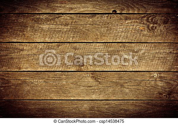 legno, vecchio, assi, fondo - csp14538475
