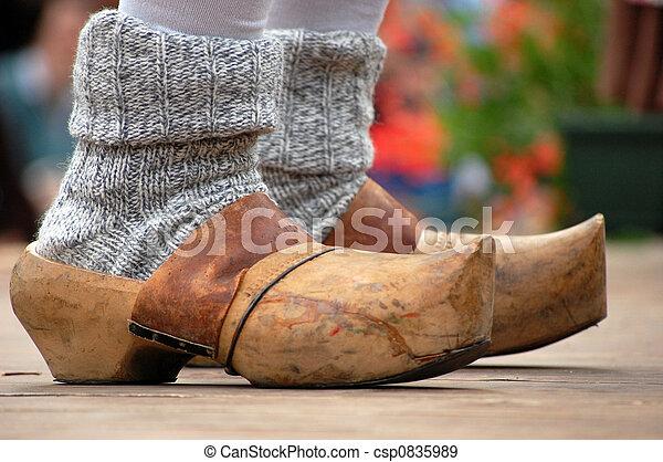 metà fuori 964ef 4d074 legno, zoccoli