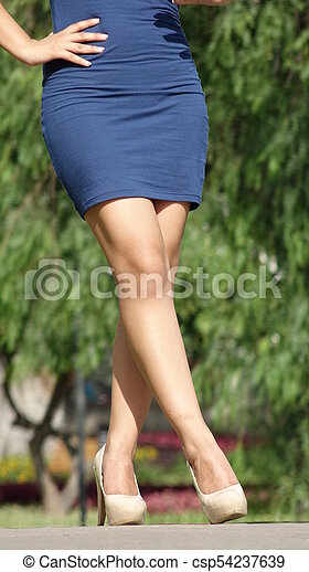 Legs And Waist Beautiful Teen Girl
