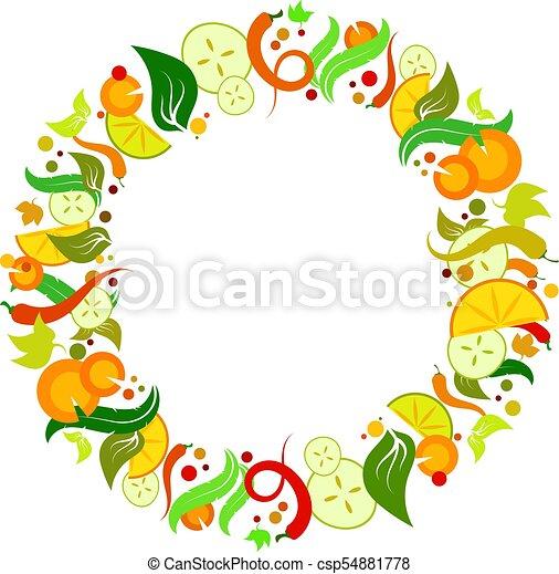 legumes, vetorial, jogo - csp54881778