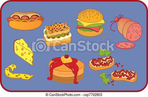 lehká jídla - csp7702803