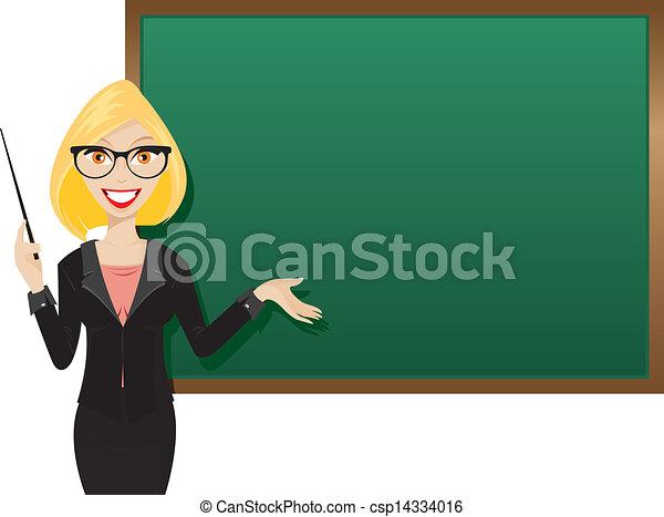 Meine Blonde Lehrerin