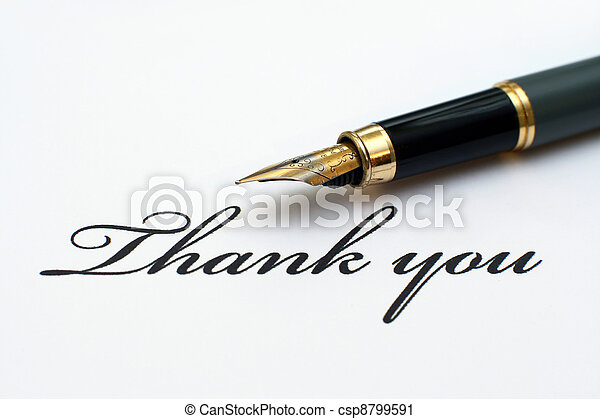 lei, ringraziare - csp8799591
