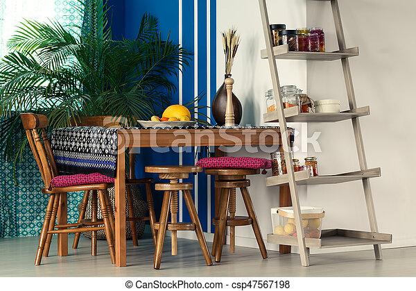 leiter b cherregal zimmer pflanze zimmer h lzerne leiter st hle b cherregal tisch. Black Bedroom Furniture Sets. Home Design Ideas