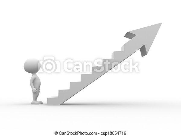 Die Leiter - csp18054716
