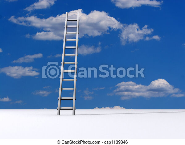 Leiter zum Himmel - csp1139346