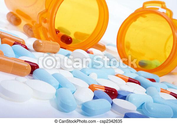lekarstwa, recepta - csp2342635