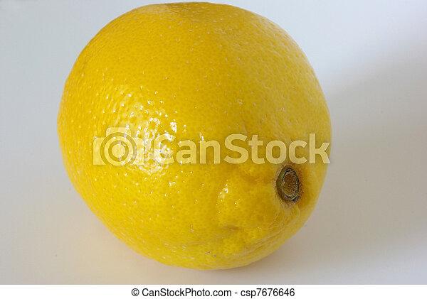 Lemon fruit - csp7676646