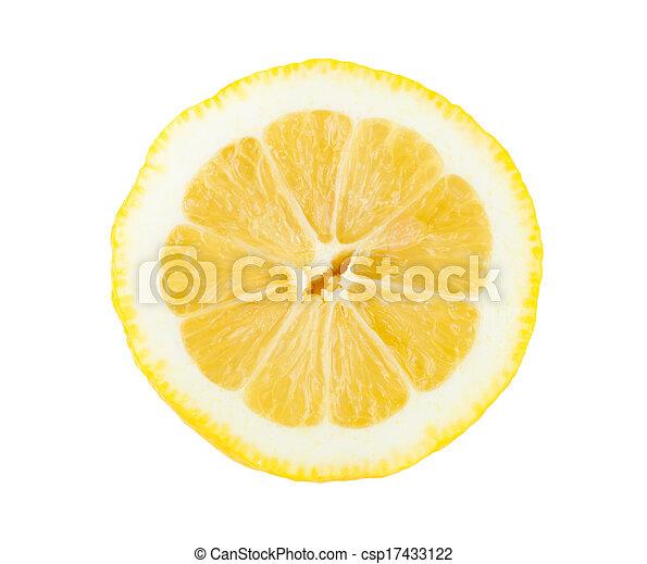 Lemon fruit - csp17433122