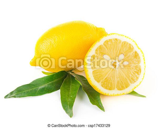 Lemon fruit - csp17433129
