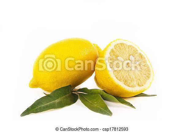 Lemon fruit - csp17812593