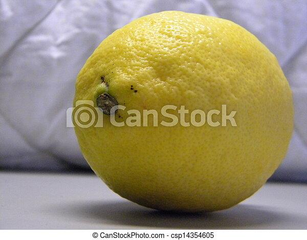 Lemon fruit - csp14354605