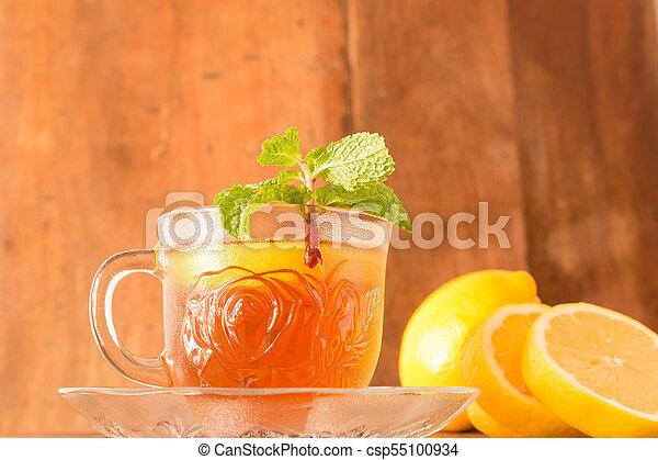 Lemon Teacup - csp55100934