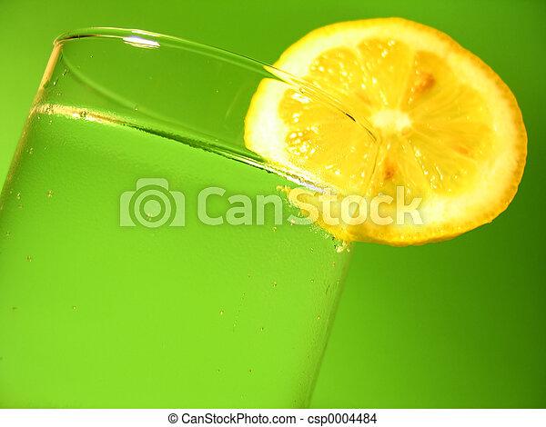 Lemon Water - csp0004484