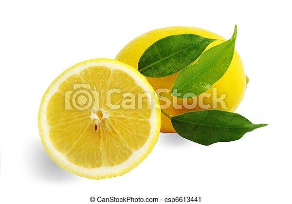 Lemons - csp6613441