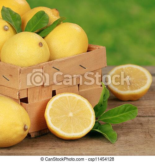 Lemons - csp11454128