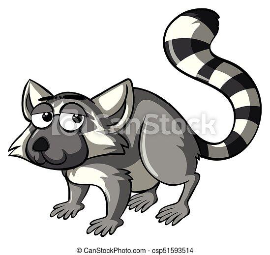 lemur with sleepy eyes illustration vector clip art search rh canstockphoto com sg bamboo lemur clipart lemur clipart black and white
