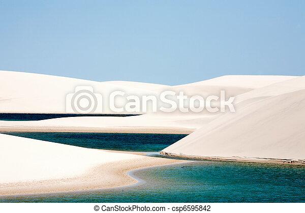 Lencois Maranheses national park - csp6595842