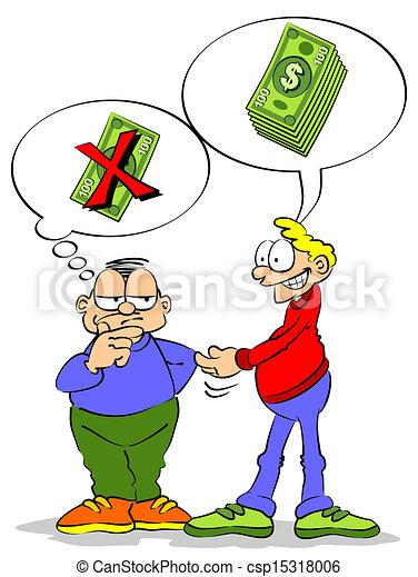 Lending Money - csp15318006