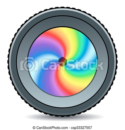 illustration of the abstract camera lens icon clipart vector rh canstockphoto com camera lens vector logo camera lens vector black and white