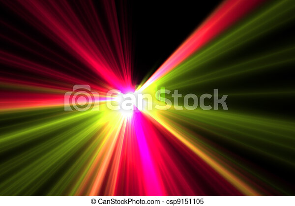 Lens flare abstract background - csp9151105