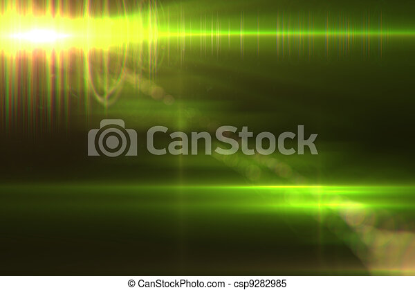 Lens flare abstract background - csp9282985