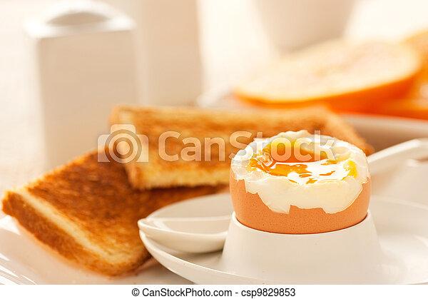 lent kokt ägg - csp9829853
