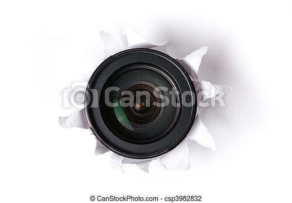 lente, buco - csp3982832