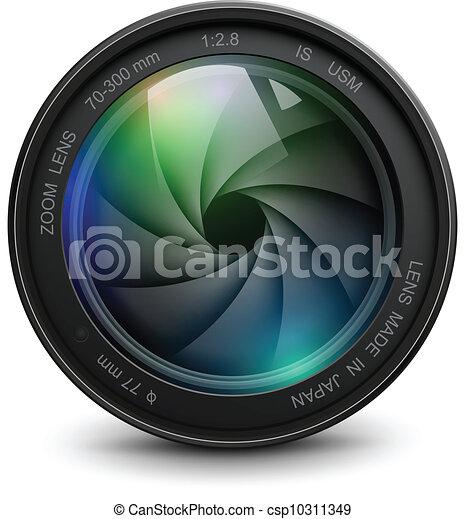 lente, câmera - csp10311349