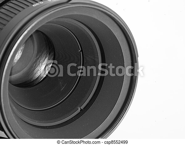 lente, macchina fotografica - csp8552499