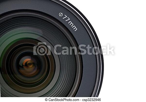 lente, macchina fotografica - csp3232946
