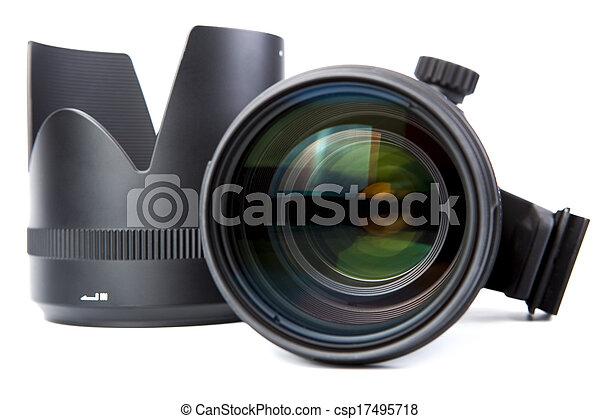 lente, primo piano, macchina fotografica - csp17495718
