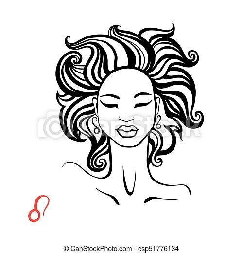 Leo Zodiac Beautiful Fashion Girl Leo Zodiac Signs Collection