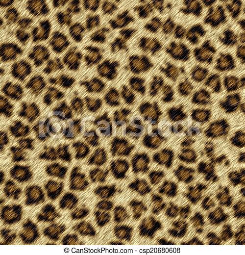 Leopard fur - csp20680608