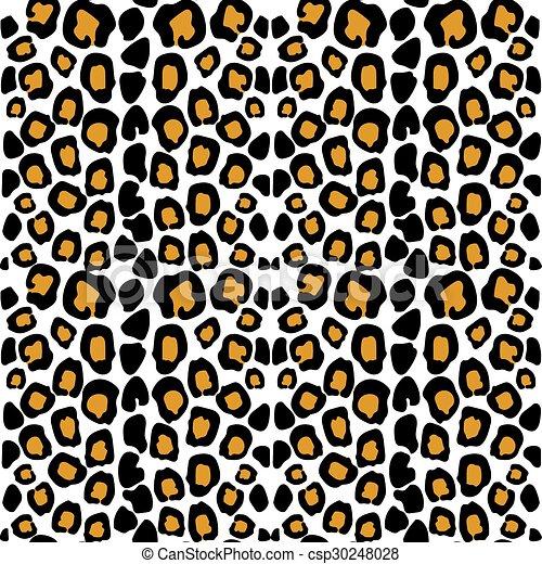 leopard pattern animal print leopard texture seamless on vector rh canstockphoto ie wild animal print clipart animal paw print clipart