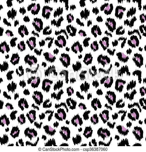 leopard print vector seamless pattern texture illustration clip art rh canstockphoto ca animal print clipart leopard print background clipart