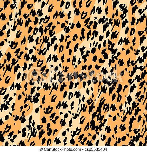 Leopard print pattern background