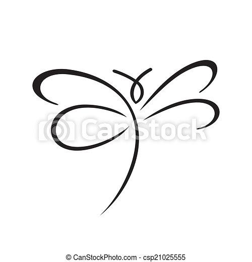 lepke, aláír - csp21025555