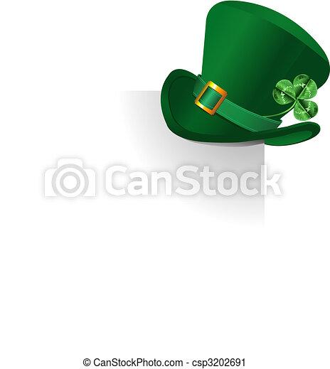 Leprechaun's  hat - csp3202691