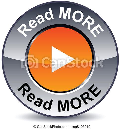 ler, mais, button., redondo - csp8103019