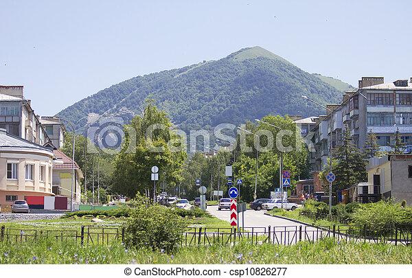 Lermontov, Beshtau, Stavropol, city - csp10826277
