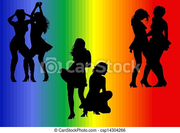 Chaud lesbienne clip