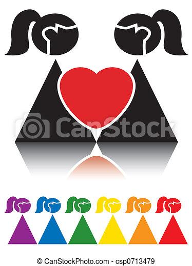 Schilder, die Sie einen Schwulen datieren