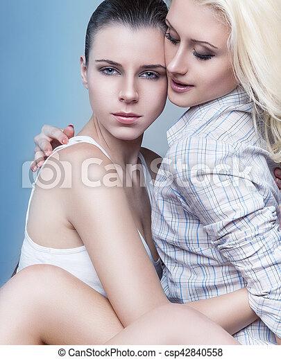 passioneret lesbisk sex
