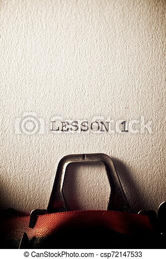 Lesson 1 concept - csp72147533