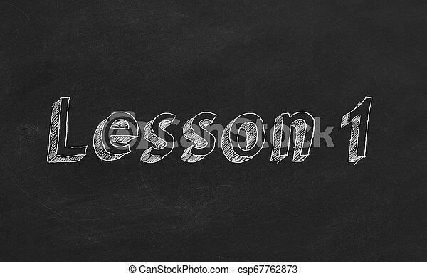 Lesson 1 - csp67762873