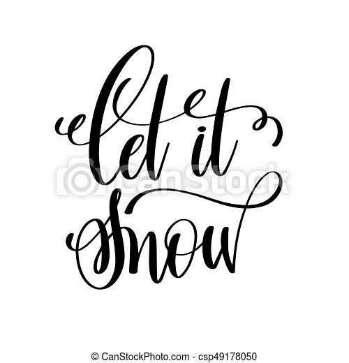 let it snow hand lettering inscription to winter holiday clipart rh canstockphoto com Pharmacy Clip Art Prescription Clip Art