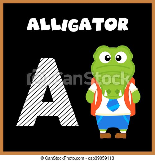 letra alfabeto, inglês - csp39059113