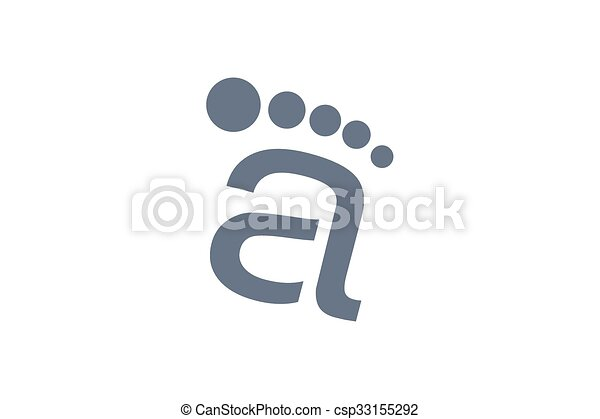 letra, design. - csp33155292