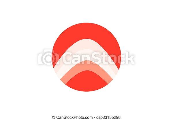 letra, design. - csp33155298